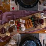 sharing platter at watermouth cove